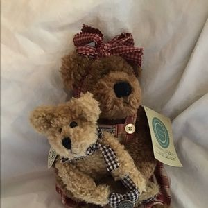 Boyds Bear Mother's Day Momma MeBear and Delmar